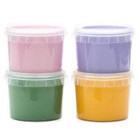 Fingerfarben 4er Set | neogrün