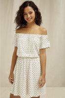 Ingrid Olive Print Dress I PEOPLE TREE