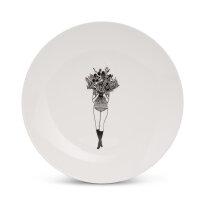Frühstücksteller Flower girl I helen b