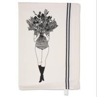 Geschirrtuch Flower girl I helen b