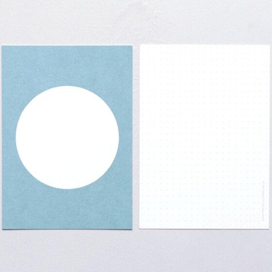 Postkarte Punkt Taube   PERLENFISCHER