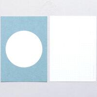 Postkarte Punkt Taube | PERLENFISCHER