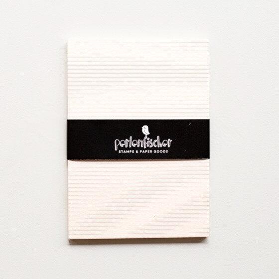 5 Postkarten Neon Streifen | PERLENFISCHER