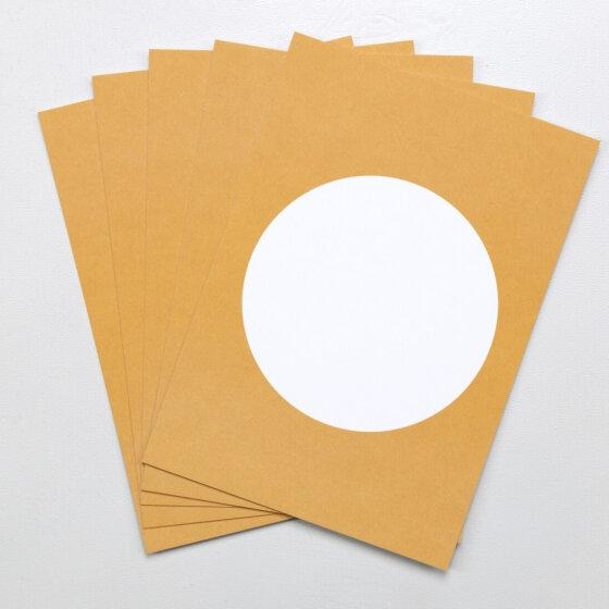 5 Postkarten Curry   PERLENFISCHER