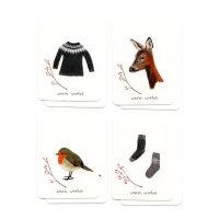 Set Minikarten Winter