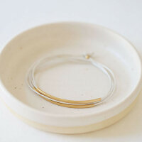 Armband Eierschale/vergoldet
