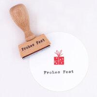 Stempel Frohes Fest | PERLENFISCHER