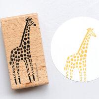 Stempel Giraffe | PERLENFISCHER