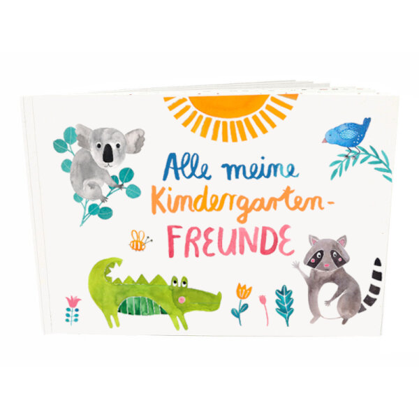 Freundebuch Kindergarten   Frau Ottilie